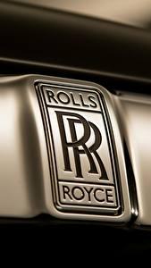 Обои Крупным планом Логотип эмблема Роллс ройс