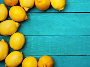 Обои Лимоны Доски