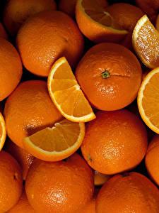Обои Текстура Цитрусовые Апельсин Много