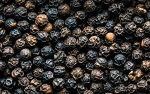 Обои Текстура Перец чёрный Крупным планом Еда