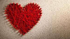 Обои День всех влюблённых Сердечко