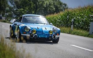 Фотография Синий Спереди Alpine a110, Thomas zilliox Машины