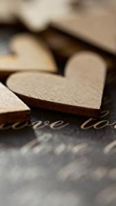 Фотографии Любовь Сердце Инглийские Деревянный
