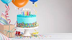 Фото Торты День рождения Свечи