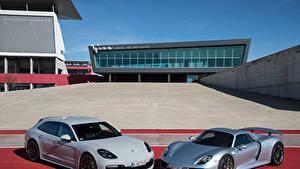 Обои Порше 2 918 Spyder, Panamera Sport Turismo Авто