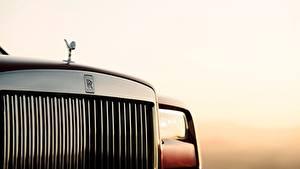 Обои Rolls-Royce Вблизи 2018 Cullinan Природа