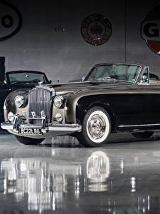 Фотография Бентли Ретро Черный Кабриолет 1955-58 S1 Continental Drophead Coupe by Park Ward Машины
