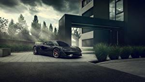 Картинка McLaren Серые 2020 Pogea Racing 666s Автомобили