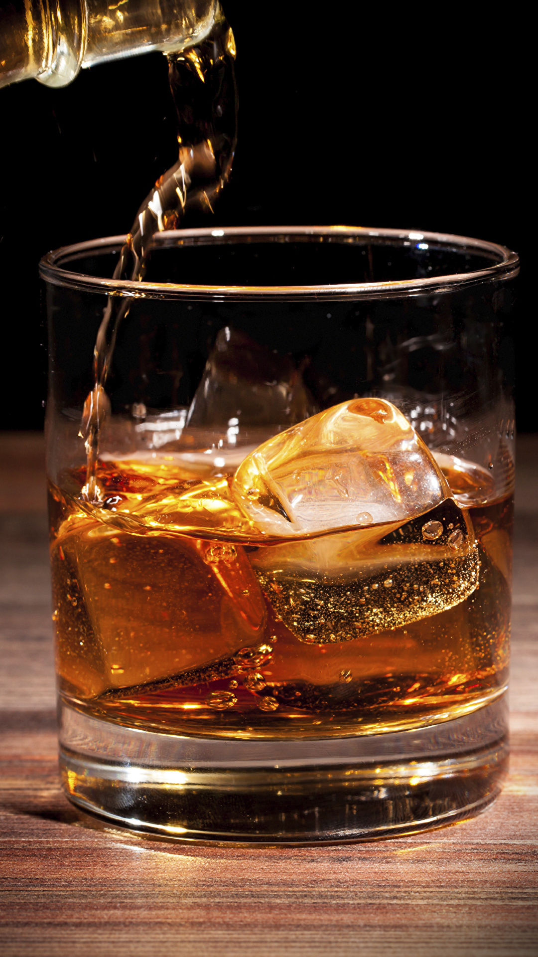 Картинки льда Виски стакана Пища вблизи 1080x1920 Лед Стакан стакане Еда Продукты питания Крупным планом