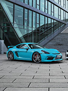 Фото Porsche Два Металлик 2016-17 TechArt Porsche 718 Cayman (982C) Автомобили