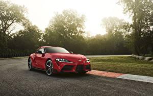 Картинка Тойота Красный Металлик 2020 GR Supra Авто