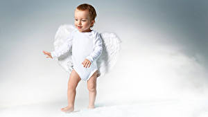 Фотография Ангел Младенец Мальчики Крылья