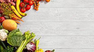 Картинки Овощи Дыни Капуста Томаты Морковь Клубника Доски