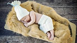 Картинка Доски Грудной ребёнок Спящий Шапка