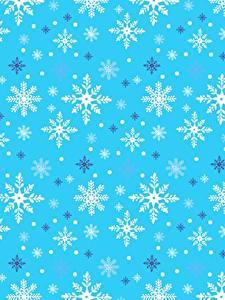 Фото Текстура Новый год Снежинки