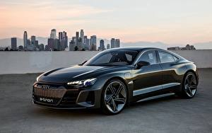 Фотография Audi Металлик e-tron GT Concept машина