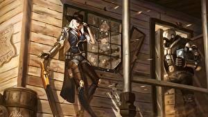 Картинка Воины Овервотч ashe bob elizabeth caledonia Игры