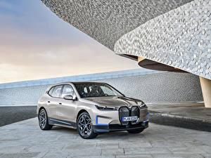 Картинка BMW Кроссовер Серый Металлик iX, Worldwide, (i20), 2021 машина