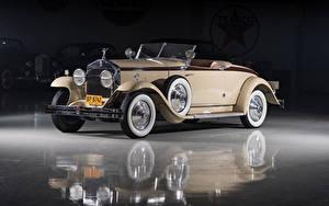 Обои Rolls-Royce Винтаж Кабриолет Металлик Родстер 1929 Phantom I Henley Roadster by Brewster автомобиль