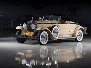 Обои Rolls-Royce Винтаж Кабриолет Металлик Родстер 1929 Phantom I Henley Roadster by Brewster Машины