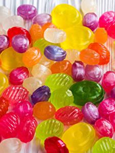 Картинка Леденцы Сладости Конфеты Много Разноцветные
