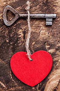 Фото День всех влюблённых Доски Сердечко Замковый ключ