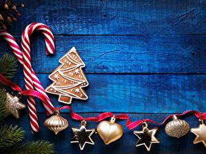 Фотография Новый год Сладости Печенье Доски Дизайн Лента Снежинка