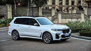 Фотография BMW CUV Металлик Белая 2019 X7 M50d