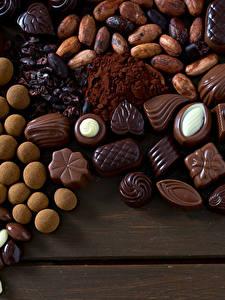 Картинки Сладости Конфеты Шоколад