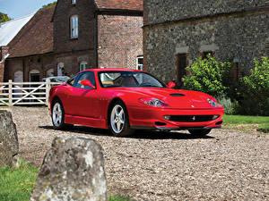 Фотографии Ferrari Красный 2001 550 Sperimentale Pininfarina