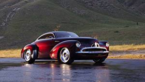 Картинка Holden Бордовый Металлик Efijy Concept, 2005 машина