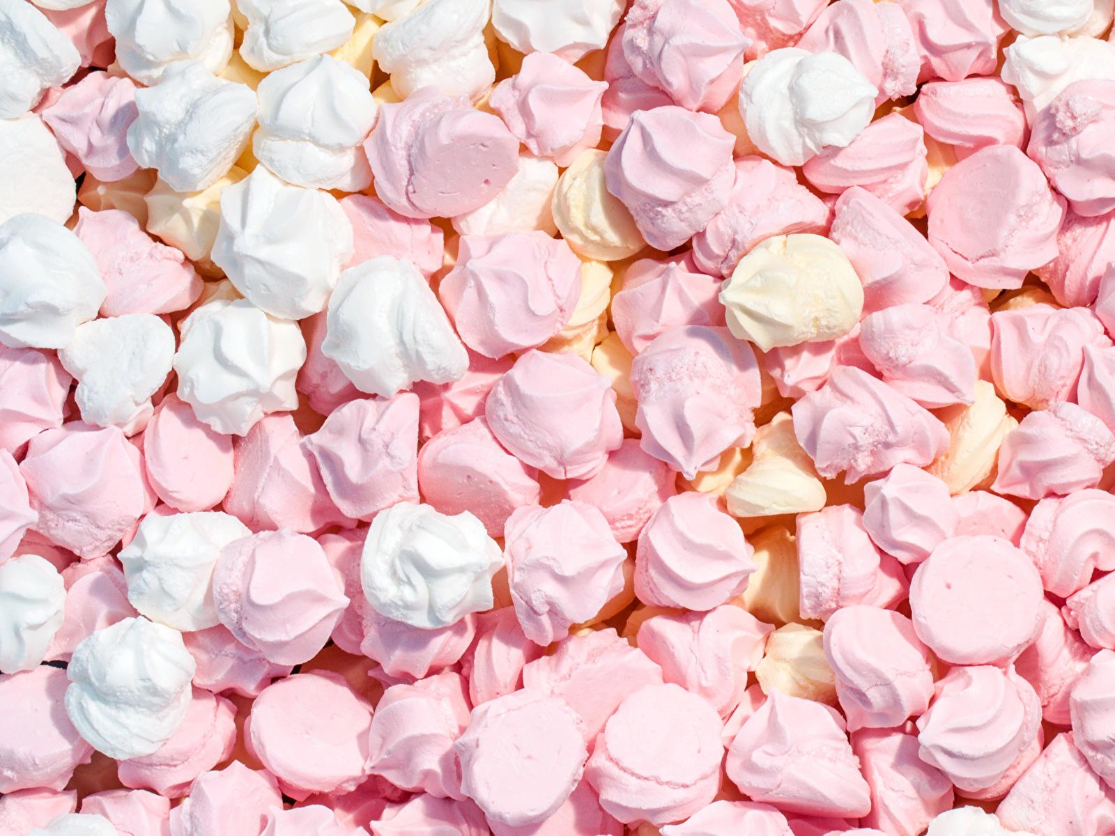 Картинка Beze Продукты питания Много сладкая еда 1600x1200 Еда Пища Сладости