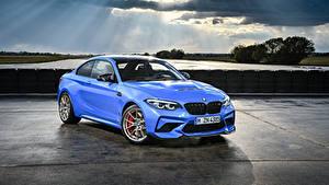 Фотография BMW Голубая Металлик 2019 M2 CS Worldwide