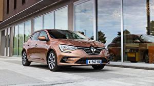 Обои Renault Коричневый Металлик Megane Edition One, 2020 Автомобили