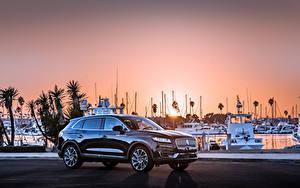 Картинки Lincoln Черный Металлик 2019 Nautilus Машины