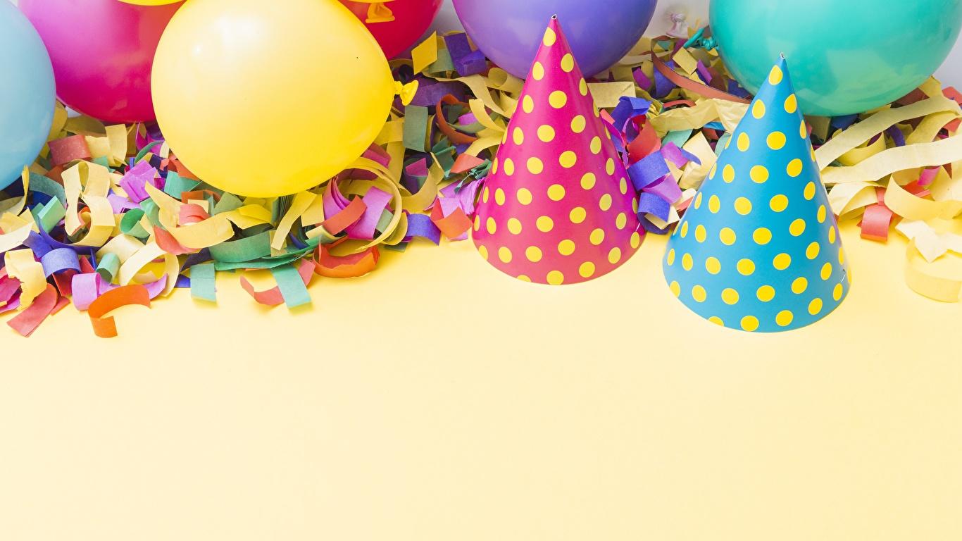 Картинка День рождения Праздники 1366x768