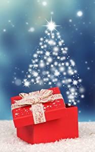 Картинки Рождество Подарки Бантик