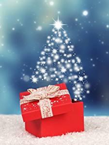 Картинки Новый год Подарков Бантик