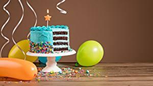 Картинки Торты День рождения Пища