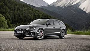 Обои Ауди Серая Металлик 2019 S4 Avant TDI Worldwide авто