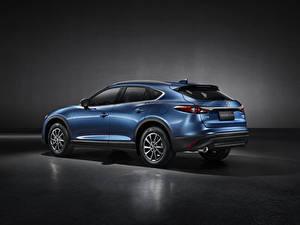 Картинка Мазда CUV Синих Металлик CX-4, 2019 Автомобили