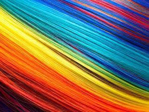 Обои Текстура Волос Разноцветные