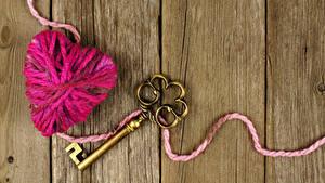 Фотографии Доски Сердечко Замковый ключ