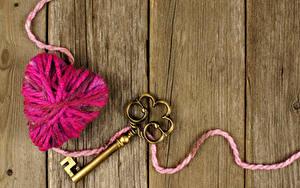 Фотографии Доски Сердце Замковый ключ