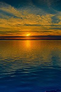 Фотография Речка Рассветы и закаты