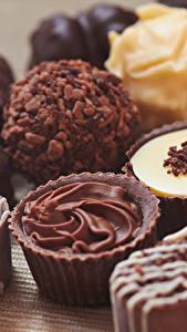 Обои Сладкая еда Конфеты Шоколад Крупным планом