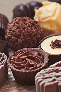 Обои Сладости Конфеты Шоколад Крупным планом