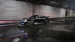 Фотография Порше Черный 2013-17 TechArt 911 Turbo GT Street R Авто