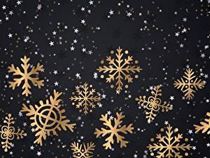 Картинки Новый год Снежинки