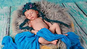 Фотография Доски Младенцы Шапки Спящий